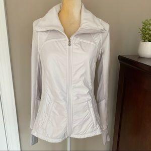 Lululemon White exercise jacket